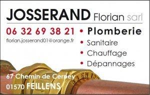 Logo Josserand Plombier