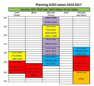 planning horaires bon feillens